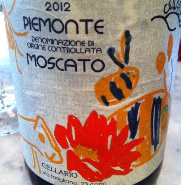 Cellario Via Fargliano Piemonte Moscato 2015