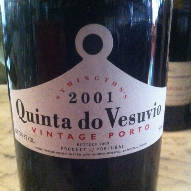 Quinta do Vesuvio (Symington) Vintage Porto Port Blend 2001