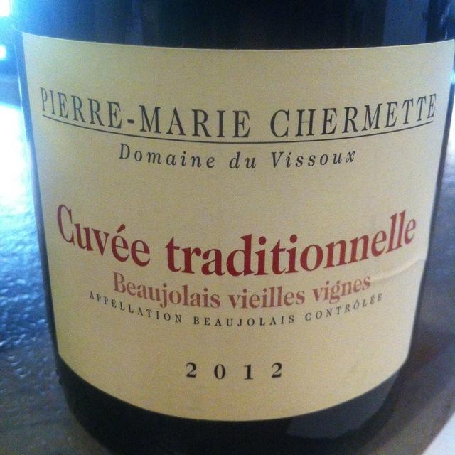 Vieilles Vignes Cuvée Traditionnelle Beaujolais Gamay 2012 (1500ml)
