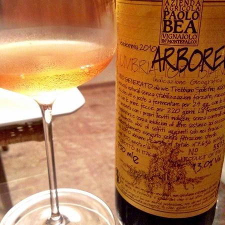 Paolo Bea Arboreus Umbria IGT Trebbiano 2010