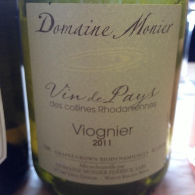 Vin de Pays des Collines Rhodaniennes Viognier 2014