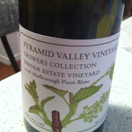Pyramid Valley Vineyards Growers Collection Kerner Estate Vineyard Pinot Blanc 2014