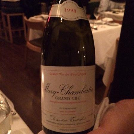 Domaine Tortochot Mazy-Chambertin Grand Cru Pinot Noir 2006