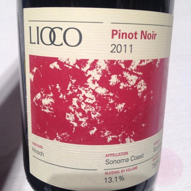 Lioco Hirsch Vineyard Pinot Noir 2013