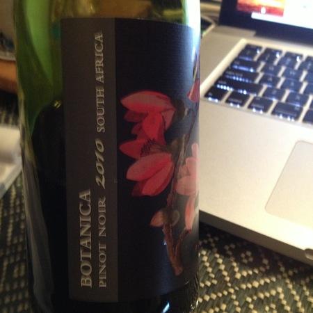 Botanica Pinot Noir 2013