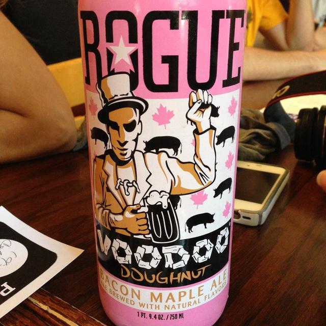 Rogue Ales Voodoo Doughnut Bacon Maple Ale  NV