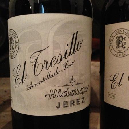 Emilio Hidalgo El Tresillo Amontillado Fino Jerez-Xérès-Sherry Palomino Fino NV
