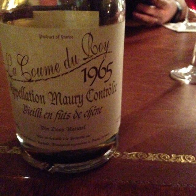 Domaine de la Coume du Roy Maury Grenache Blend 2014