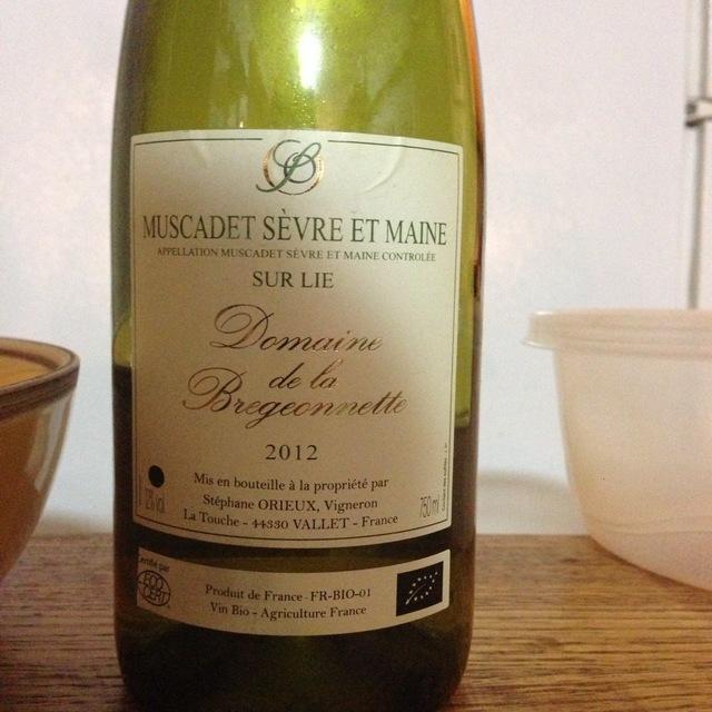 Domaine de la Bregeonnette Muscadet Sevre-et-Maine Sur Lie Melon de Bourgogne 2015