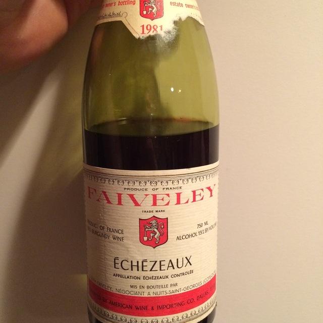 Domaine Faiveley (Joseph Faiveley) Echezeaux Pinot Noir 1998