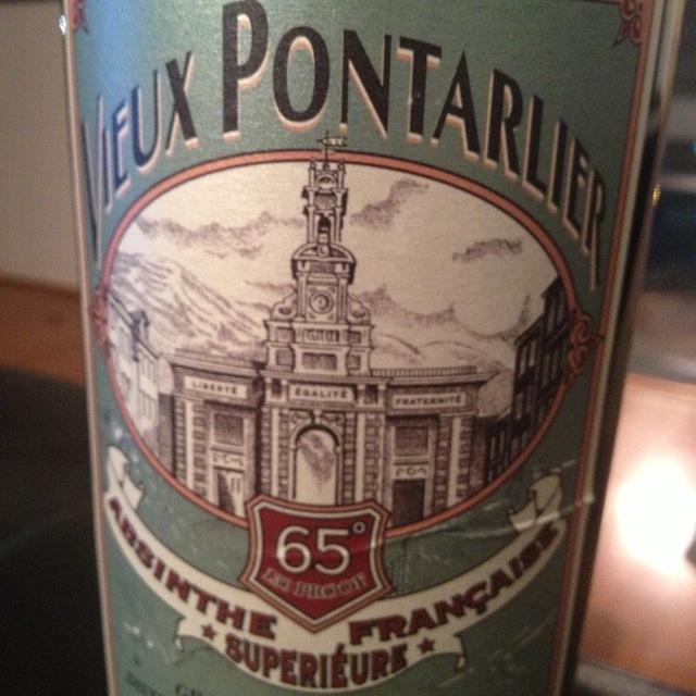 Vieux Pontarlier Absinthe Française Superiéure NV