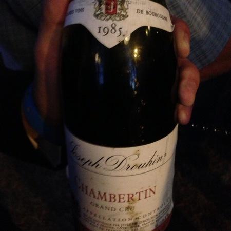 Joseph Drouhin Chambertin Grand Cru Pinot Noir 1985