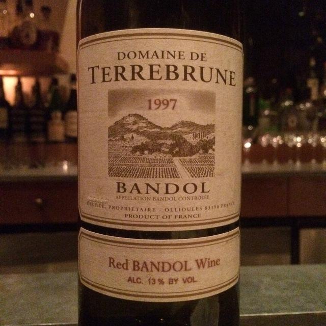 Bandol Mourvedre Blend 1997