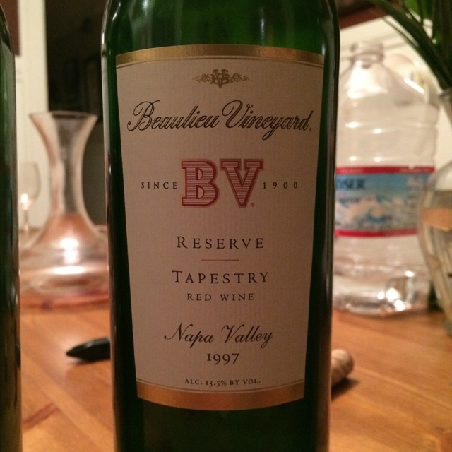 BV Tapestry Reserve Napa Valley Red Bordeaux Blend 1997