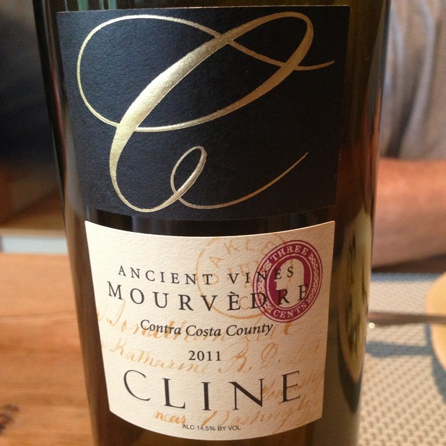 Cline Cellars Ancient Vines Contra Costa County Mourvèdre NV