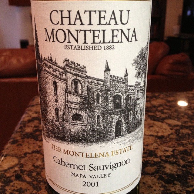 Chateau Montelena The Montelena Estate Calistoga Cabernet Sauvignon 2001