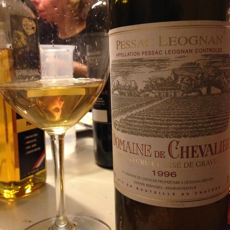Domaine de Chevalier Pessac-Léognan White Bordeaux Blend 1996