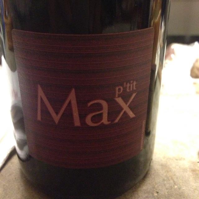 Guy Breton P'tit Max Morgon Gamay 2015