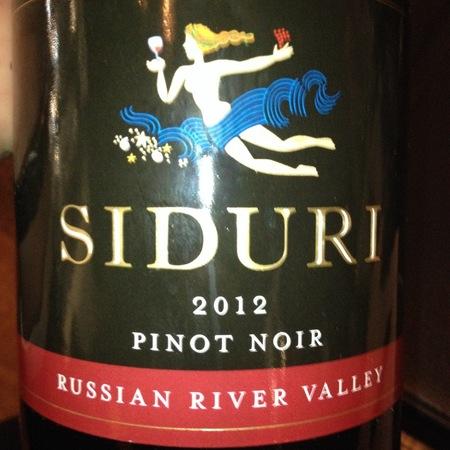 Siduri Russian River Valley Pinot Noir 2015