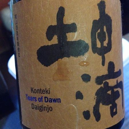 Konteki Tears of Dawn Daiginjo Sake NV (11oz.)