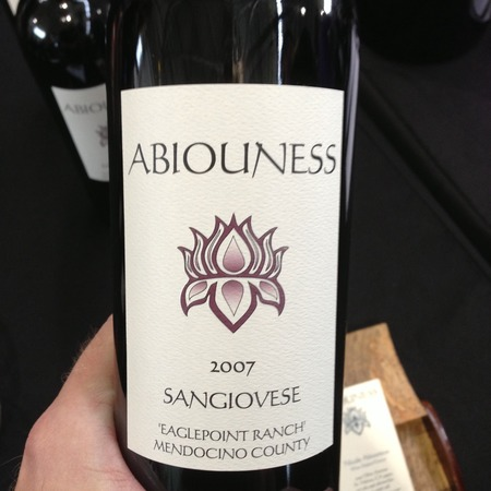 Abiouness Eaglepoint Ranch Sangiovese 2013
