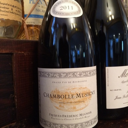 Jacques-Frédéric Mugnier Chambolle-Musigny Pinot Noir 2011