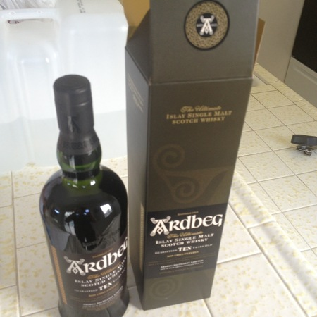 Ardbeg The Ultimate 10 Years Old Islay Single Malt Scotch Whisky NV