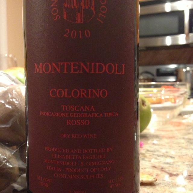 Sono Montenidoli Montenidoli Toscana IGT Colorino  2015 (750ml 12bottle)