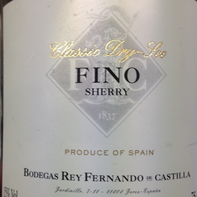 Classic Dry-Sec Fino Sherry NV