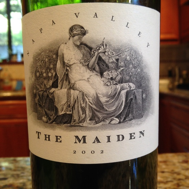 The Maiden Napa Valley Red Bordeaux Blend 2002