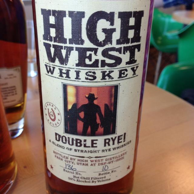 Double Rye Straight Whiskey NV