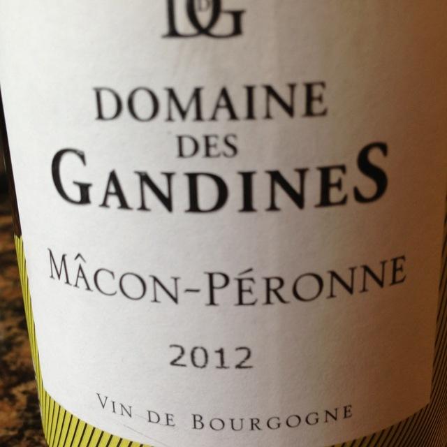 Mâcon-Péronne Chardonnay 2014