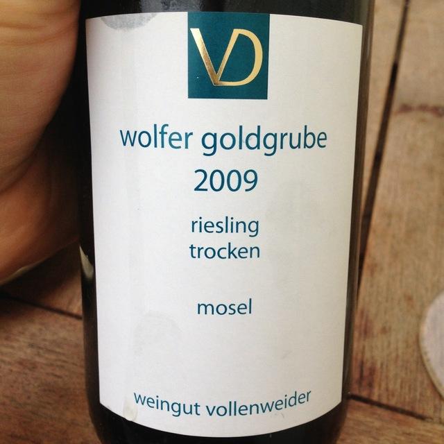 Wolfer Goldgrube Trocken Riesling 2009