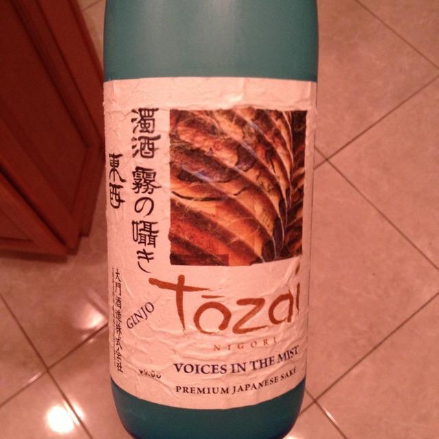 Tozai Voices in the Mist Ginjo Nigori Sake NV (11oz.)
