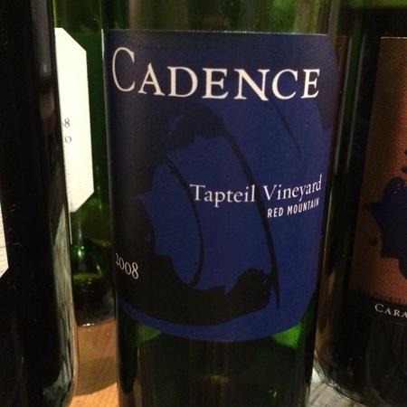 Cadence Tapteil Vineyard Cabernet Franc Blend 2012