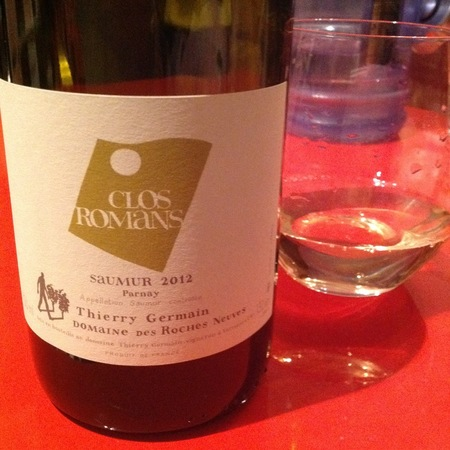 Domaine des Roches Neuves (Thierry Germain) Clos Romans Saumur Chenin Blanc 2015