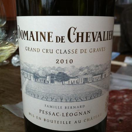 Domaine de Chevalier Pessac-Léognan Red Bordeaux Blend 2010