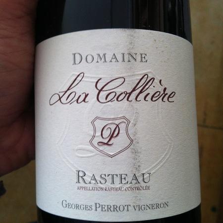 Domaine La Colliere Rasteau Red Rhone Blend 2011