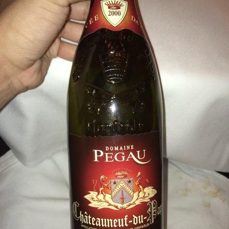 Domaine du Pegau Cuvée da Capo Châteauneuf-du-Pape Grenache Syrah 2000