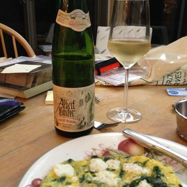 Albert Boxler Réserve Alsace Pinot Blanc 2014