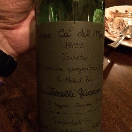 Giuseppe Quintarelli Rosso Cà del Merlo Veneto Corvina Blend 1999