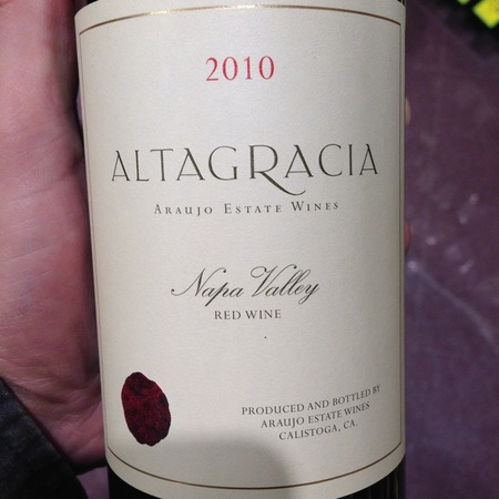Araujo Estate Altagracia Napa Valley Cabernet Sauvignon Blend 2014