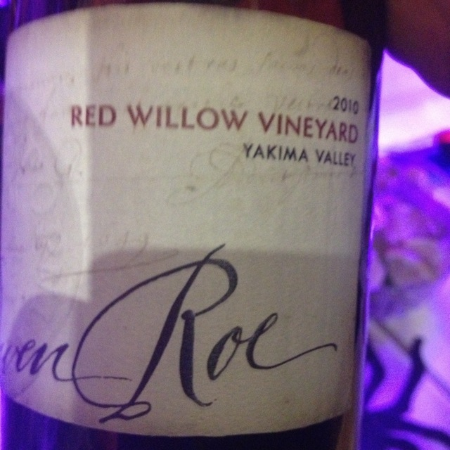 Owen Roe Red Willow Vineyard Red Blend 2012