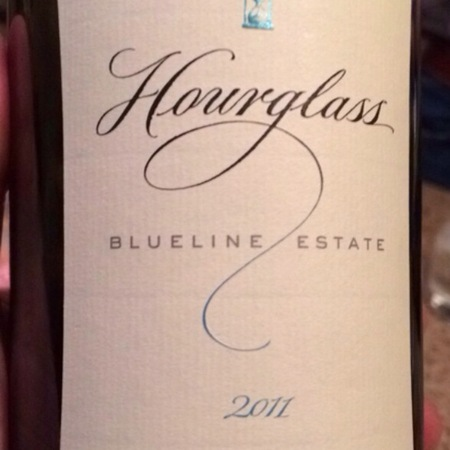 Hourglass Blueline Estate Merlot 2011