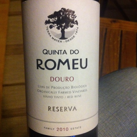 Quinta do Romeu Duoro Reserva Red Blend 2010