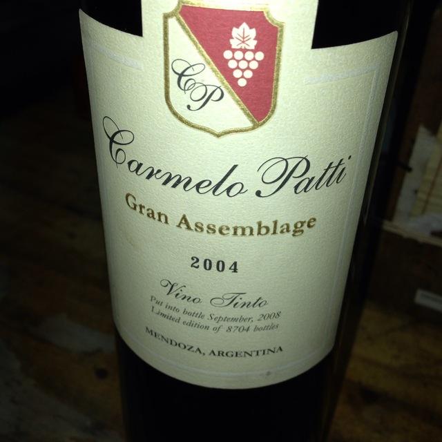 Gran Assemblage Vino Tinto Red Blend 2004