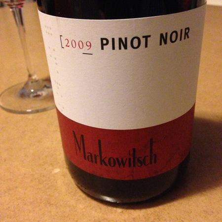Gerhard Markowitsch  Pinot Noir 2015
