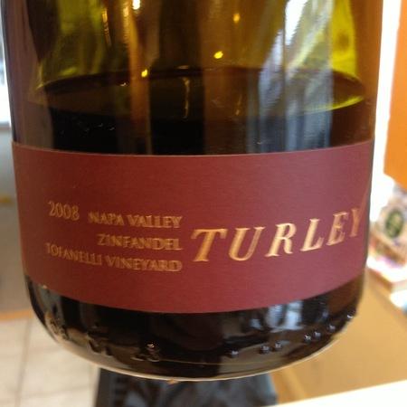 Turley Tofanelli Vineyard Zinfandel 1996