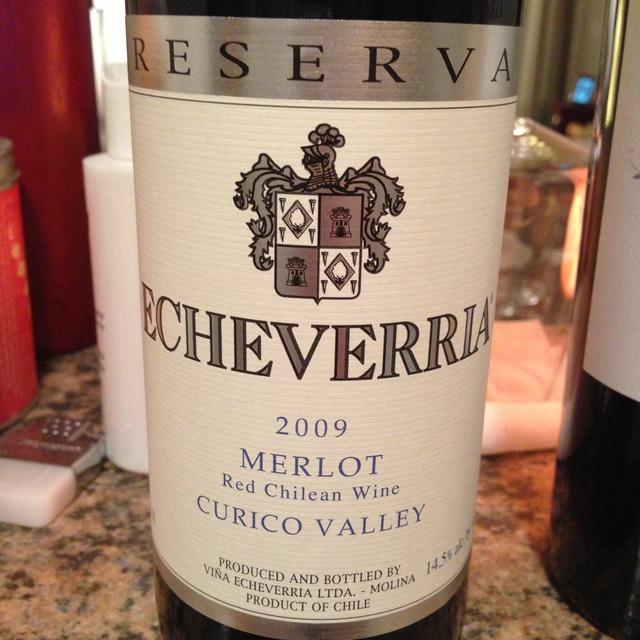 Reserva Curico Valley Merlot 2012