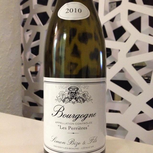 Les Perrières Bourgogne Chardonnay 2010
